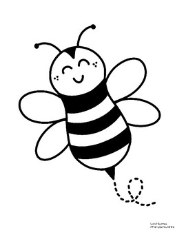 Bee Coloring Pages - GetColoringPages.com | 350x270