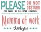 FREE Cute Pumping or Nursing Printable - Bilingual Spanish