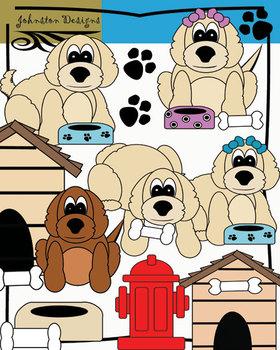 Cute Puppy Clipart