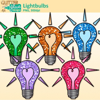Lightbulb Clip Art | Teach Electricity, Electric Circuits, Magnetism for Science