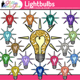 Lightbulb Clip Art {Teach Electricity, Electric Circuits,