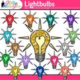 Lightbulb Clip Art: Electricity & Electric Circuit Graphic