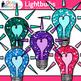 Lightbulb Clip Art {Teach Electricity, Electric Circuits,