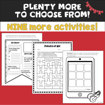 Getting to Know You: Task Cards & Printable Activities