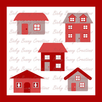 House Home Buildings Red Clip Art Clipart Images Graphics