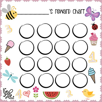 Cute Reward Chart