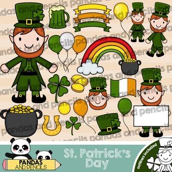 Saint Patrick's Day Clip Art - Leprechaun Clip Art