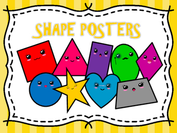 Cute Shape Posters