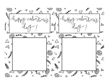 Cute, Simple Valentine's Cards - Hand-drawn & Hand-lettered