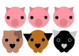 Cute Simplistic Animals