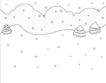 Cute Snowman Clipart Set