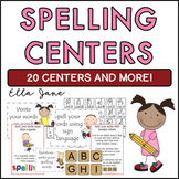 Cute Spelling Centers