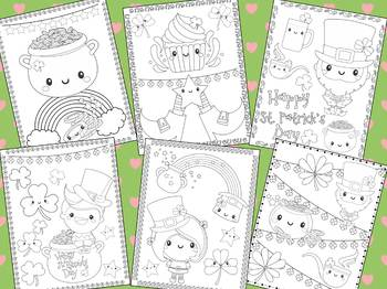 Cute St. Patrick's Day Coloring Pages - The Crayon Crowd, Leprechaun, activity