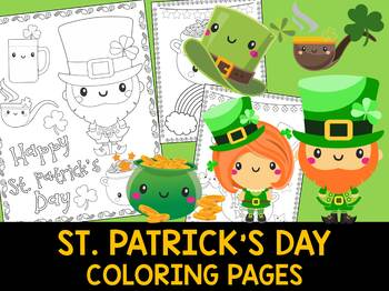 Cute St. Patrick's Day - The Crayon Crowd Coloring Pages, Leprechaun, activity