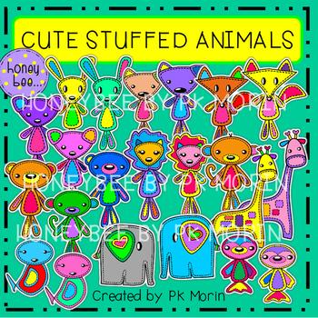 Cute Stuffed Animals Clip Art