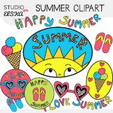 Cute Summer Clipart - Studio ELSKA