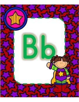 Cute Superhero ABC