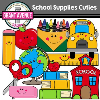 Cute Supplies Clipart