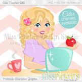 Cute Teacher 010, Teacher Avatar- Commercial Use Character