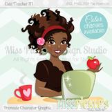 Cute Teacher 111, Teacher Avatar- Commercial Use Character