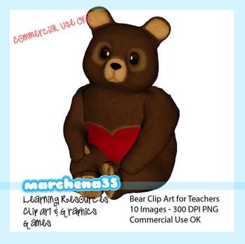 Cute Teddy Bear Clip Art