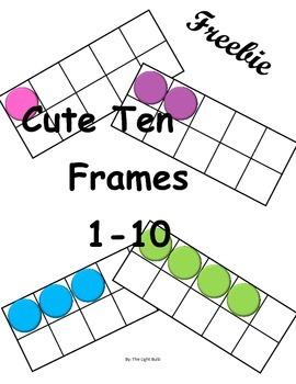 Cute Ten Frames
