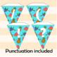 Fruit Bunting Alphabet