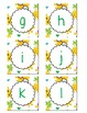 Cute Tropical Pineapple Boggle Letters