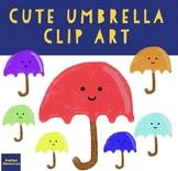 Cute Umbrella Clip Art