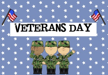 cute veterans day powerpoint by kindergarten kids at play tpt