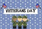 Cute Veterans Day Powerpoint
