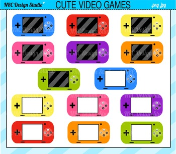 Cute Video Games Clip Art