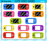 Video games clipart commercial use