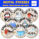 Cute Winter Digital Stickers For See Saw and Google Classroom 2