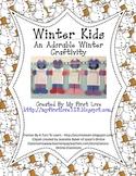 Cute Winter Kid Writing Craftivity