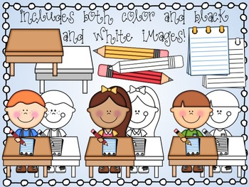 Cute Writing Kids