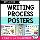 Writing Process Posters - Adorable!