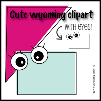 Cute Wyoming with Eyes!