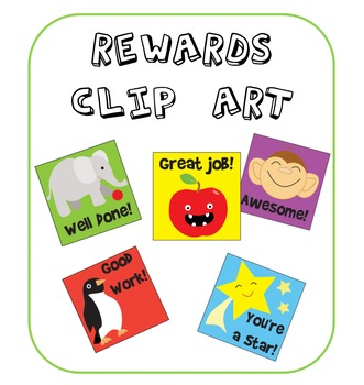 Cute and Bright Reward Clip Art