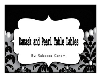 Cute and Classy Table Labels