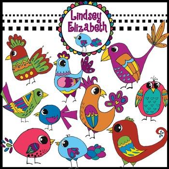 Cute Bird Clip Art