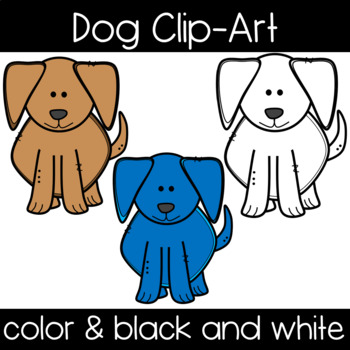 Cute and Colorful Dog Clipart