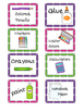 Cute and Colorful School Supply Labels