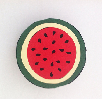 Cute and Easy Spring and Summer Watermelon Project