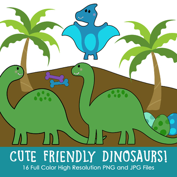 Cute and Friendly Dinosaurs!