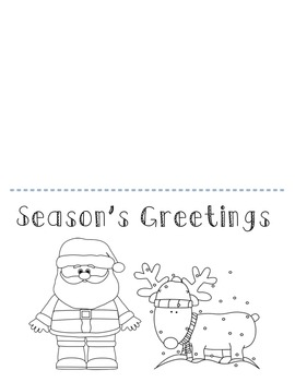 Cute and Fun Christmas Card Printables