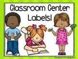 Class Center Labels