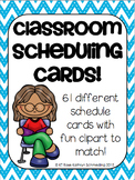 Daily Class Schedule Labels