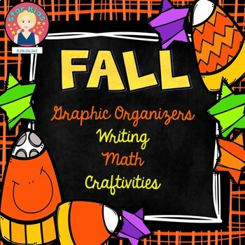 Fall Activities, Graphic Organizers, Writing, Math and Basic Crafts
