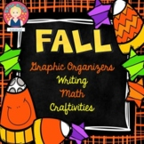 Fall Activities, Graphic Organizers, Writing, Math and Bas